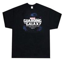 T-Shirt Guarding the Galaxy: Large Black (Psalm 91)