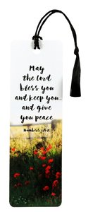 Tassel Bookmark: May the Lord Bless You