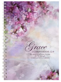 Spiral Softcover Journal: Grace