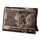 Moments of Faith Sculpture Plaque: Risen Marble (1 Cor 15:3-4) (Rectangle) Homeware