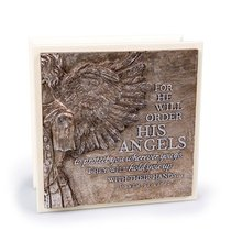 Moments of Faith Sculpture Box: His Angels (Psalm 91:11-12)