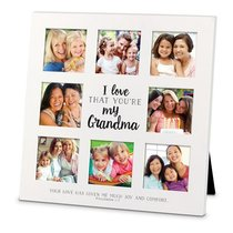 Mdf Ceramic Frame Collage: I Love That Youre My Grandma (Philemon 1:7)
