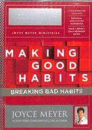 Making Good Habits, Breaking Bad Habits - Action Plan Pack