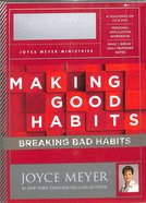 Making Good Habits, Breaking Bad Habits Action Plan (Kit Includes 4 Sessions On Cd And Dvd, Study Guide, Reminder Cards) Pack