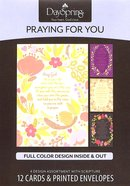 Boxed Cards Praying For You: Prayers & Blessings Box