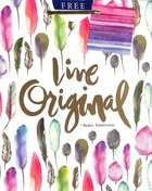 Gift Bag Medium: Live Original (Incl Two Sheets Tissue Paper & Gift Tag, Gold Foil) (Sadie Robertson Gift Products Series) Stationery