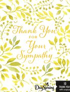 Note Cards Thank You: For Your Sympathy (2 Samuel 2:5 Niv)