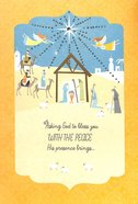 Christmas - Asking God to Bless You, Nativity Scene