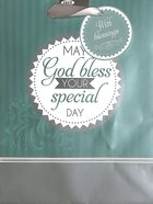 Gift Bag Medium: May God Bless Your Special Day Stationery