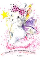 Notepad: Fearfully and Wonderfully Made (Fairy Bunny) Stationery
