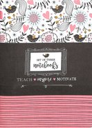 Notebook Set of 3: Teach, Inspire, Motivate