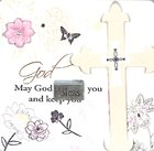 Mark My Words Ceramic Plaque: May God Bless You Plaque