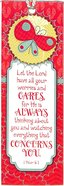 Bookmark With Tassel: Let the Lord Have All Your Worries and Cares... Stationery