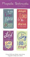 Bookmark Magnetic: May the Lord Bless You..... (Set Of 4) Stationery