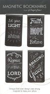 Bookmark Magnetic: Chalkboard Assortment (Set Of 4) Stationery