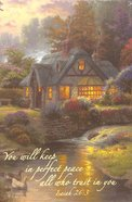 Journal Thomas Kinkade: Stillwater Cottage Spiral