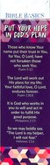 Put Your Hope in God's Plan (10 Pack) (Bible Basics Bookmark Series) Stationery