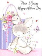 Mother's Day (Bunny W/present & Card) Cards