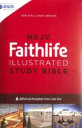 NKJV Faithlife Illustrated Study Bible (Red Letter Edition)