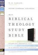 NIV Biblical Theology Study Bible Black Indexed (Black Letter Edition)