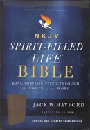 NKJV Spirit-Filled Life Bible Black (Red Letter Edition) (Third Edition)