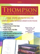 KJV Thompson Chain-Reference Bible Black Handy Size (Red Letter Edition)