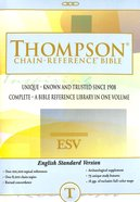 ESV Thompson Chain-Reference Bible (Red Letter Edition) Paperback