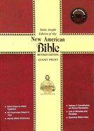 Nab Saint Joseph Giant Print Bible Hardback