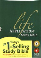 NLT Life Application Study Bible Indexed (Red Letter Edition)