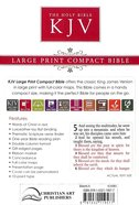 KJV Compact Large Print Tan Red Letter Edition Imitation Leather