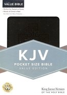 KJV Pocket Size Bible Black Imitation Leather
