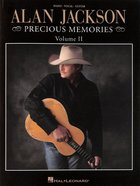 Alan Jackson Precious Memories (Piano, Vocal & Guitar) (Music Book) (Vol 2) Paperback