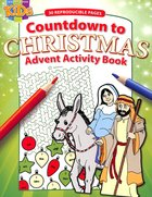 Activity Book: Countdown to Christmas (Reproducible)