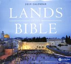 2019 Wall Calendar: Lands of the Bible - Along the Road With Jesus