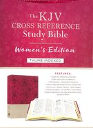KJV Cross Reference Study Indexed Bible Women's Edition Floral Berry
