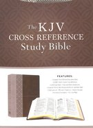 KJV Cross Reference Study Bible Stone Imitation Leather