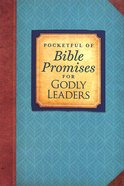 Pocketful of Bible Promises For Godly Leaders Paperback