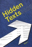 Hidden Texts (KJV) (#01 in Hidden Texts Series) Paperback