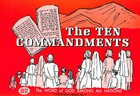 Ten Commandments Colouring Book (#07 in Outline Texts For Colouring Series)