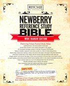 KJV Newberry Reference Bible Genuine Leather