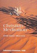 Christian Meditation Paperback