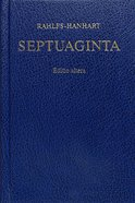 Greek Septuagint Revised (2nd Ed) Hardback
