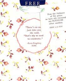 Gift Bag Small: Karen Kingsbury (Incl Tissue Paper & Gift Tag)