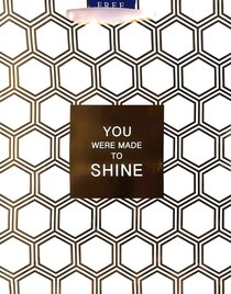 Gift Bag Large: Gold Hexies, You Were Made to Shine (Incl Two Sheets Tissue Paper)