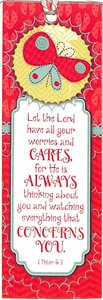 Bookmark Tassel: Let the Lord Have All Your Worries and Cares...