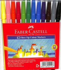 Faber-Castell Fine Markers Wallet of 12