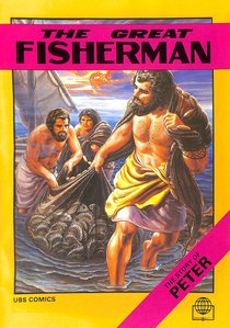 The Great Fisherman (Story of Peter) (Bible Society Comics Series)