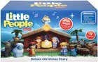 Fisher-Price Little People Christmas Story Nativity Gift Set