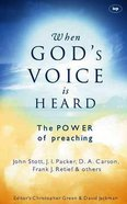 When God's Voice is Heard Paperback