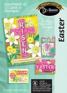 Easter Boxed Cards: Cross/Floral